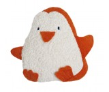 Kirschkern-Wärmekissen Pinguin, kontrolliert biologischer Anbau, GOTS zertifiziert, 100 % Made in Germany