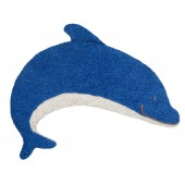 Efie Kirschkern-Wärmekissen Delfin, kontrolliert biologischer Anbau ( kbA ), GOTS zertifiziert, 100 % Made in Germany