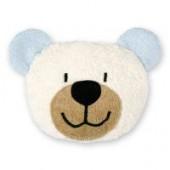 Efie Dinkelkorn-Wärmekissen Teddy hellblau, 100 % Made in Germany