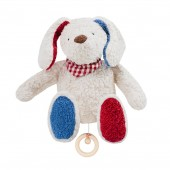 Spieluhr Hund, kontrolliert biologischer Anbau (kbA), 100 % Made in Germany