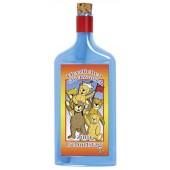 Flaschenpost®, blau, Motiv Glückwunsch
