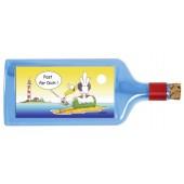 Flaschenpost®, blau, Motiv  Post für Dich