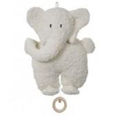 Spieluhr Elefant, kontrolliert biologischer Anbau (kbA), 100 % Made in Germany