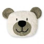 Efie Dinkelkorn-Wärmekissen Teddy grau, 100 % Made in Germany
