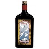 Flaschenpost®, schwarz, Motiv Flaschengeister