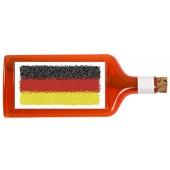 Flaschenpost®, rot, Motiv Flagge