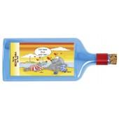 Flaschenpost®, blau, Motiv Beste Oma