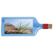 Flaschenpost®, blau, Motiv Dünen