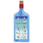Flaschenpost®, blau, Motiv Viele Grüße