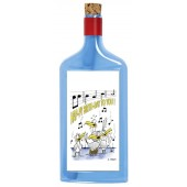 Flaschenpost®, blau, Motiv Happy Birthday